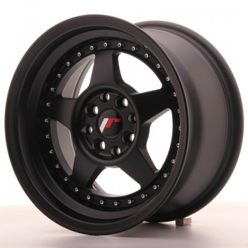 JR Wheels JR6 15x8 ET25 4x100/108 Matt Black JR6 15