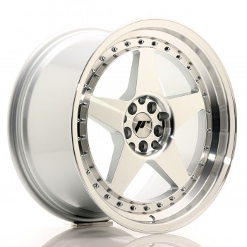 JR Wheels JR6 18x9,5 ET35 5x100/120 Silver Machined Face JR6 18