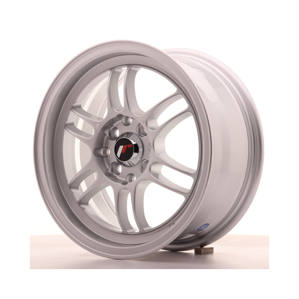 JR Wheels JR7 15x7 ET38 4x100/114 Silver JR7 15