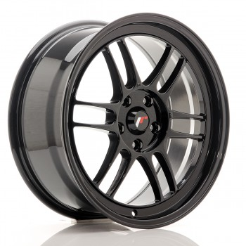JR Wheels JR7 18x8 ET35 5x114.3 Black JR7 18