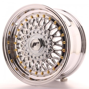 JR Wheels JR9 15x7 ET20 4x100/108 Chrome JR9 15