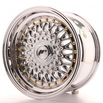 JR Wheels JR9 15x8 ET20 4x100/108 Chrome JR9 15