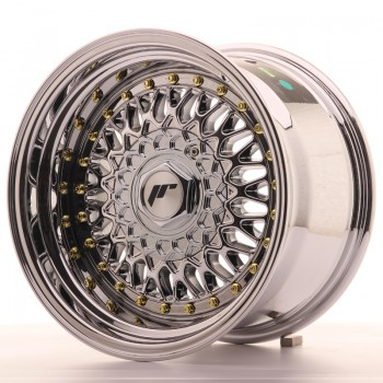 JR Wheels JR9 15x9 ET10 4x100/108 Chrome JR9 15