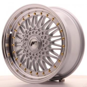 JR Wheels JR9 17x7,5 ET20 4x100/108 Silver w/Machined Lip JR9 17