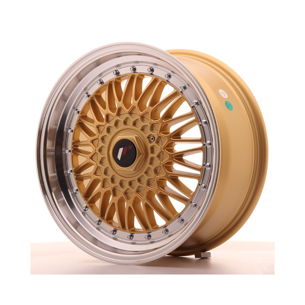 JR Wheels JR9 17x7,5 ET35 5x100/114 Gold w/Machined Lip JR9 17