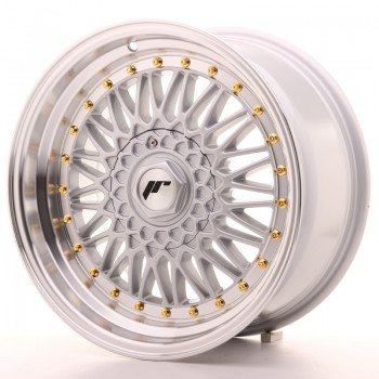 JR Wheels JR9 17x8,5 ET20 4x100/108 Silver w/Machined Lip JR9 17