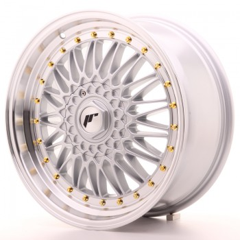 JR Wheels JR9 18x8 ET40 5x112/114 Silver w/Machined Lip JR9 18