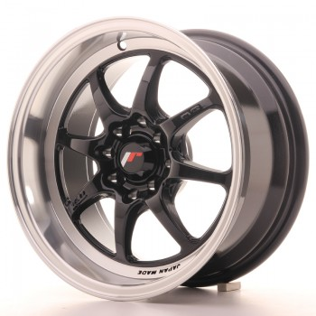 JR Wheels TF2 15x7,5 ET30 4x100/108 Gloss Black TFII 15
