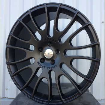 R22X10 5X130 ET40 71.6 AT964 BLACK MATT RWR Style Hamann (AKC 120)(Used)(K6)
