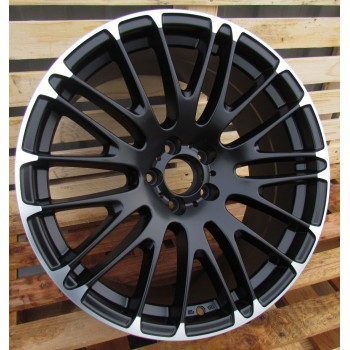 R20X10 5x112 ET40 66.5 BY913 BLACK MATT (Rear+Front) RWR (AKC 100)(K3)