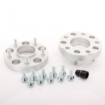 JRWA1 Adapters 25mm 5x120 72,6 72,6 Silver