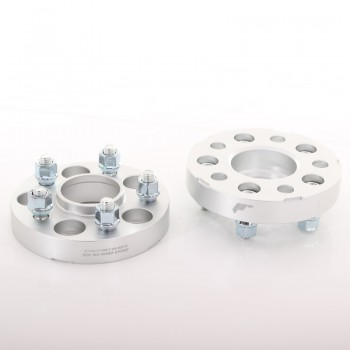 JRWA3 Adapters 25mm 5x108 63,4 63,4 Silver