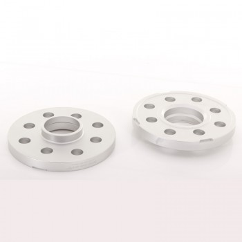 JRWS2 Spacers 15mm 5x100/112 57,1 57,1 Silver