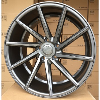 R20X10 5X112 ET38 66.5 BY1059 GLOSS GRAPHITE (Right side) RWR Style Vossen (K4+K7+P)