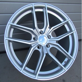 R19X9.5 5X120 ET38 72.56 XFE71 MS (Rear+Front) RWR Style Japan Racing (A)