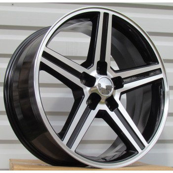 R22X9.5 5X127 ET13 78.3 XFC81 Black polished (BP) RWR (Replica price) (K5)