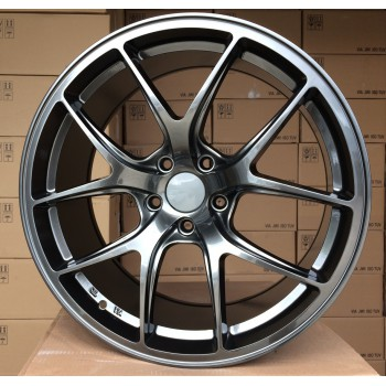 R20X8.5 5x112 ET30 66.6 BY1139 HB RWR (Rear+Front) Style BBS (K5)