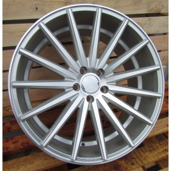 R20X9.5 5X112 ET40 66.56 FR999 (LU560) (M-5) MS+Powder coating (REAR) RWR Style Vossen (+5eur) (K4)