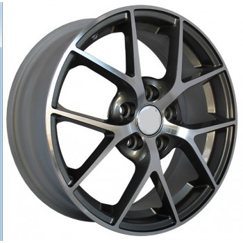 R15X6 4X114.3 ET45 73.1 SH634 MB (BKF) Speed Wheels (AKC 40) (N2)