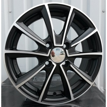 R15X6 4X108 ET39 73.1 M15 MB MATT (MBF) Speed Wheels (AKC 40) (N)