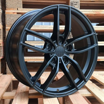 R18X8 5x130 ET40 71.5 HX018 (BY1384) RWR Black Half Matt (K4)