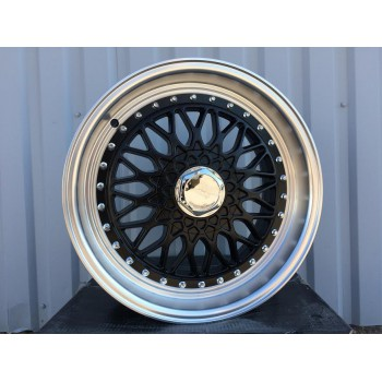 R19X9.5 10X114.3/120 ET35 73.1 BY479 MB+Polish Lip (Rear+Front) RWR Style BBS (+5 EUR)(K5)