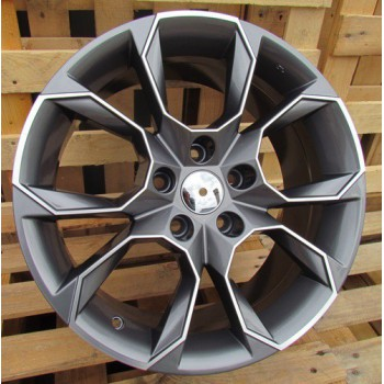 S17X7.5 5X112 ET40 57.1 SK516 (BYD1310) MG+Powder coating RWR  Skoda (+3eur) (K7)