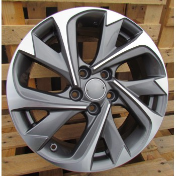 T17X7 5X114.3 ET50 60.1 XFE89 (BYD2010) MG+Powder Coating RWR  TOY (K7)