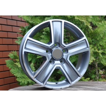 R16X6.5 5X118 ET45 71.1 BK473 MG+Powder Coating RWR (Replica price) (1250kg) (+2eur) (R)