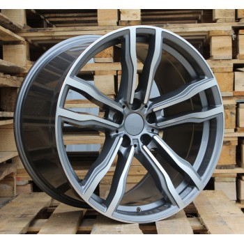 B20X10 5X120 ET40 74.1 BY588 (DLJ588) MG (Rear+Front) RWR  BM (K5+P)
