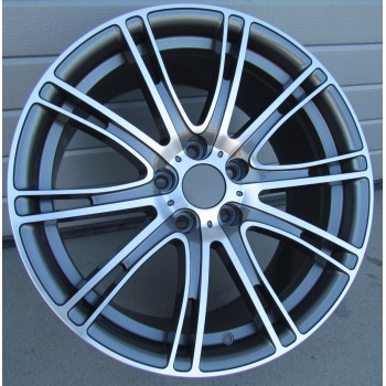 B19X8.5 5x112 ET25 66.6 BY599 (LJ599) MG (G12/MF) (Rear+Front) RWR  BM (K7)