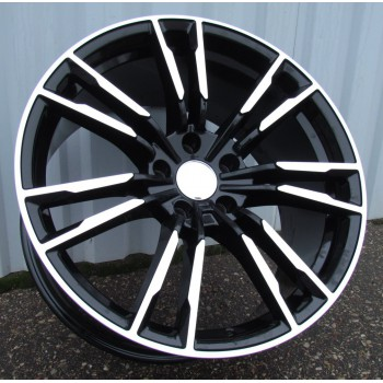 B19X9.5 5X112 ET35 66.56 A7065 MB (Rear+Front) RWR  BM (New G series) (A)