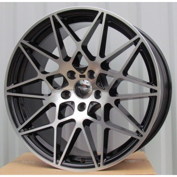 B18X9.5 5X120 ET40 72.6 BK5167 MB+Powder coating (Rear+Front) RWR  BM(+3 eur)(P)