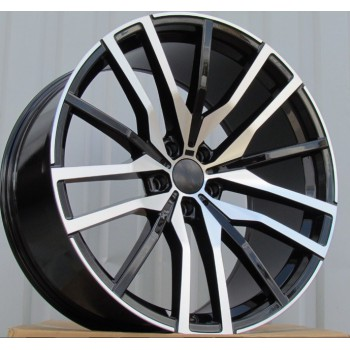 B22X10.5 5X112 ET43 66.6 H0324 (BY1473) MB+Powder coating (Rear+Front) RWR  BM(+5eur) (K5)