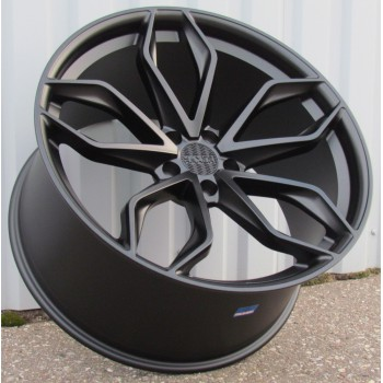 R22X11.5 5X112 ET40 66.6 HX011(E25522B505S) BLACK (Rear+Front) HAXER (For GLE coupe) (+20eur) (A)