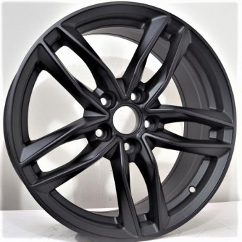 Disks Douglas 9,5X21 5X112 ET35 66,46 Matt Black