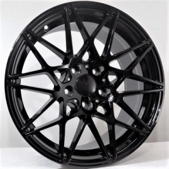 Disks Rivali 7,5X17 5X120 ET35 72,56 Black