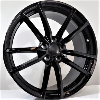 Disks Hogan 8X18 5X112 ET45 57,1 Black