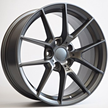 Disks Morgan 8,5X19 5X112 ET23 66,56 Matt Dark Grey