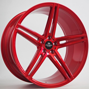 Disks Forzza Bosan 10,5X22 5X112 ET38 66,45 Candy Red