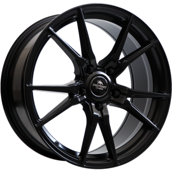 Disks Forzza Ultra 8X18 5X100 ET35 73,1 Satin Black