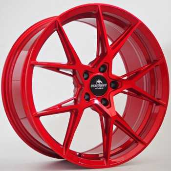 Disks Forzza Oregon 9,5X19 5X112 ET38 CB66,45 Candy Red