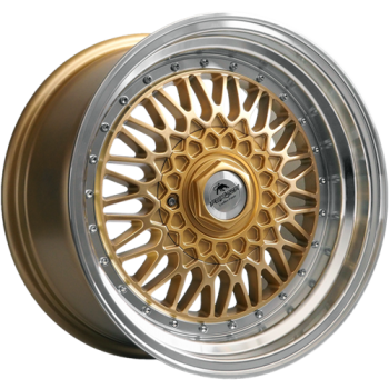 Disks Forzza Malm 8,0X16 4X100/108 ET20 67,1 gold/lm