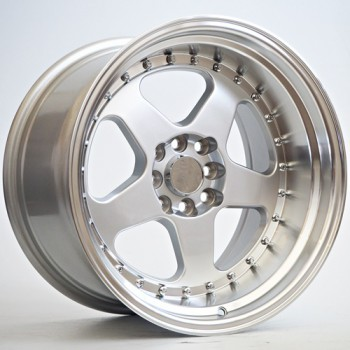 Disks RKW14 10X17 4X100/114,3 ET10 73,1 Glos Silver ML