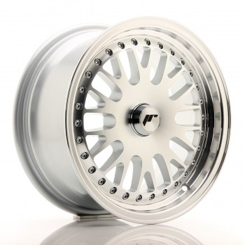 JR Wheels JR10 15x7 ET30 BLANK Silver Machined Face JR10 15