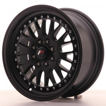 JR Wheels JR10 15x7 ET30 4x100/108 Matt Black JR10 15
