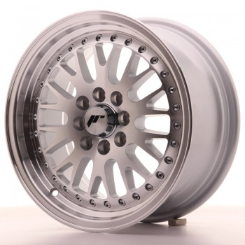 JR Wheels JR10 15x7 ET30 4x100/108 Silver Machined Face JR10 15