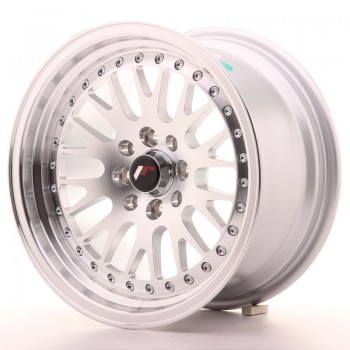 JR Wheels JR10 15x8 ET20 4x100/108 Silver Machined Face JR10 15