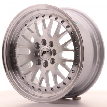 JR Wheels JR10 16x7 ET30 4x100/108 Silver Machined Face JR10 16