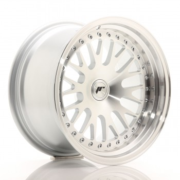JR Wheels JR10 16x9 ET10-20 BLANK Silver Machined Face JR10 16